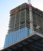 large condo building under construction