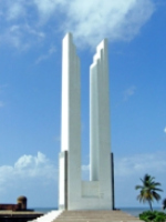 modern white sculpture probably not best public art