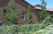 model home boasting of environmental sustainability