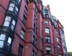red brick low-rise building