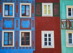 row houses in decline