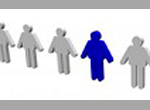 one graphic for a person is different color than the schematic for other persons