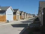 new urbanist or suburban alley