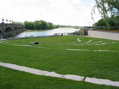 Grass Slope Amphitheater Indianapolis