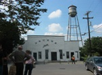 water tower and dance hall