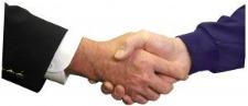 handshake indicative of contract zoning