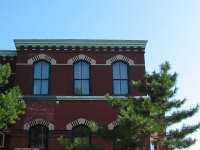 pretty cornices in local historic district