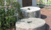 grindstones create sense of place, a key community development principle