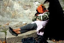 homelessness under bridge
