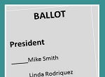 ballot for officers