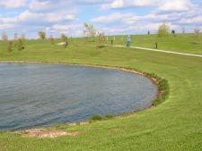 rural lake and trail