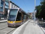 tram in European city