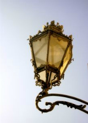 ornate street light