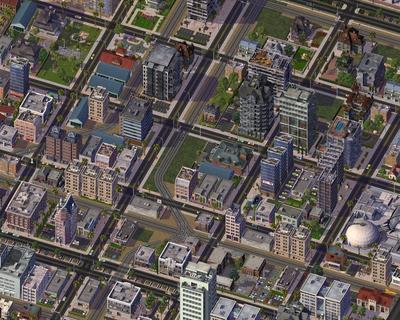 Ideal City Rendering in 3D