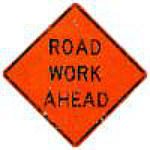 road work sign transportation planning