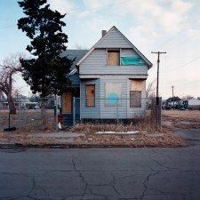 Detroit abandoned shrinking cities