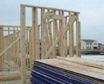 house being framed