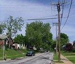 typical neighborhood street