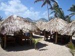 international development strategy Caribbean huts