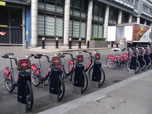 bicycle sharing in London