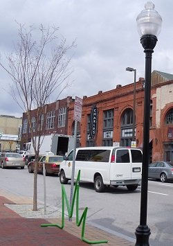 budding arts district in Baltimore