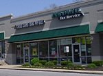 payday loan office in a strip center