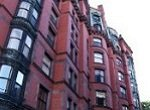 pretty red brick condo building