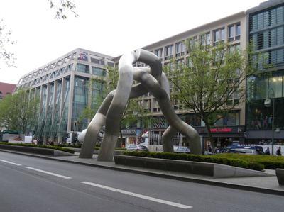 Berlin Sculpture the Right Height