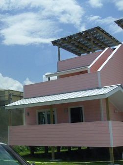 new reasonable cost home in post-Katrina New Orleans