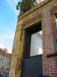 neglected commercial building, an important neighborhood quality of life issue