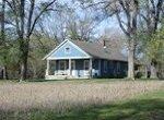 rural housing blue rural home