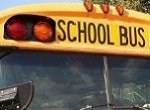 school bus windshield