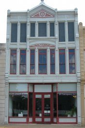 preserved bank building conserves small town character