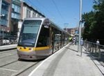light rail transit train Dublin